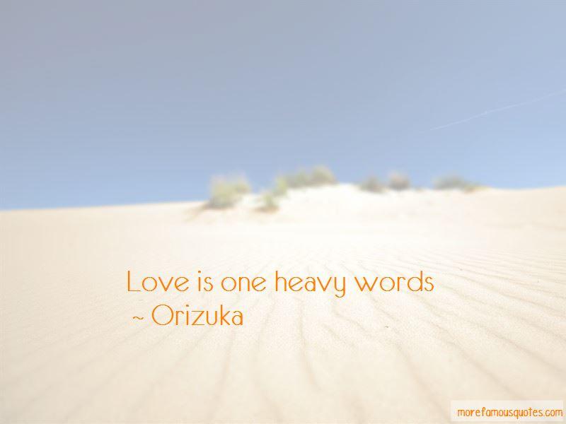 Orizuka Quotes Pictures 3
