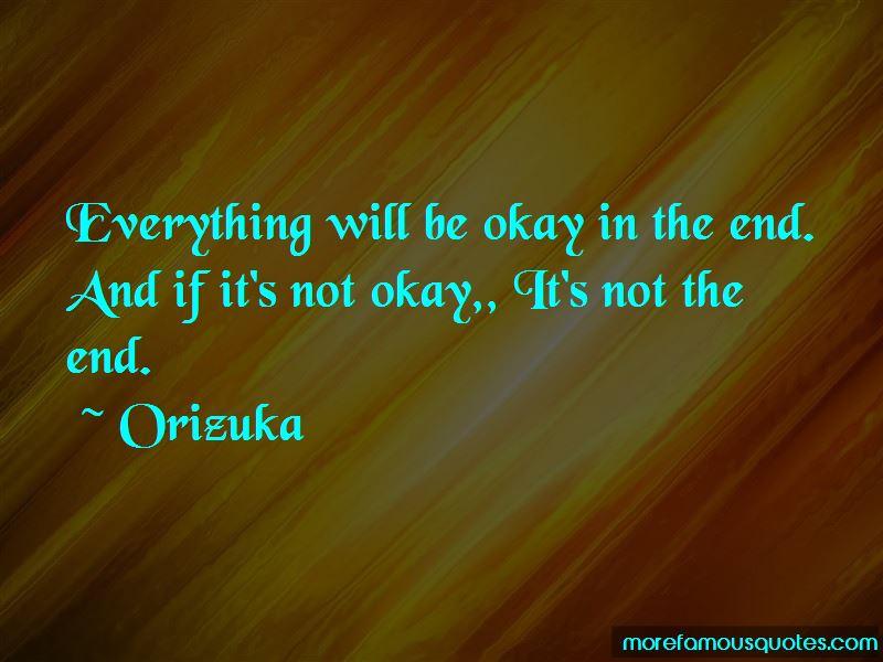 Orizuka Quotes