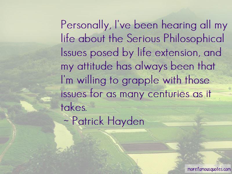 Patrick Hayden Quotes Pictures 2