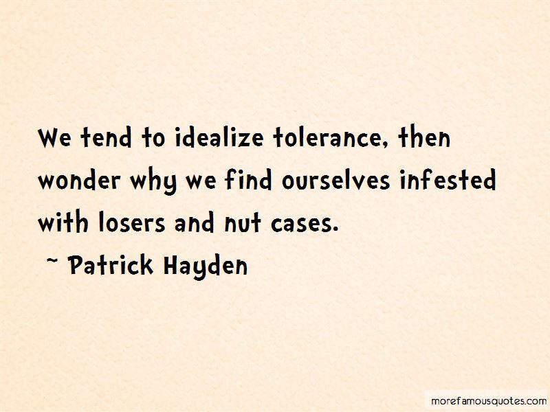 Patrick Hayden Quotes