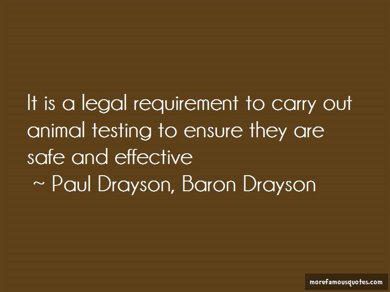 Paul Drayson, Baron Drayson Quotes