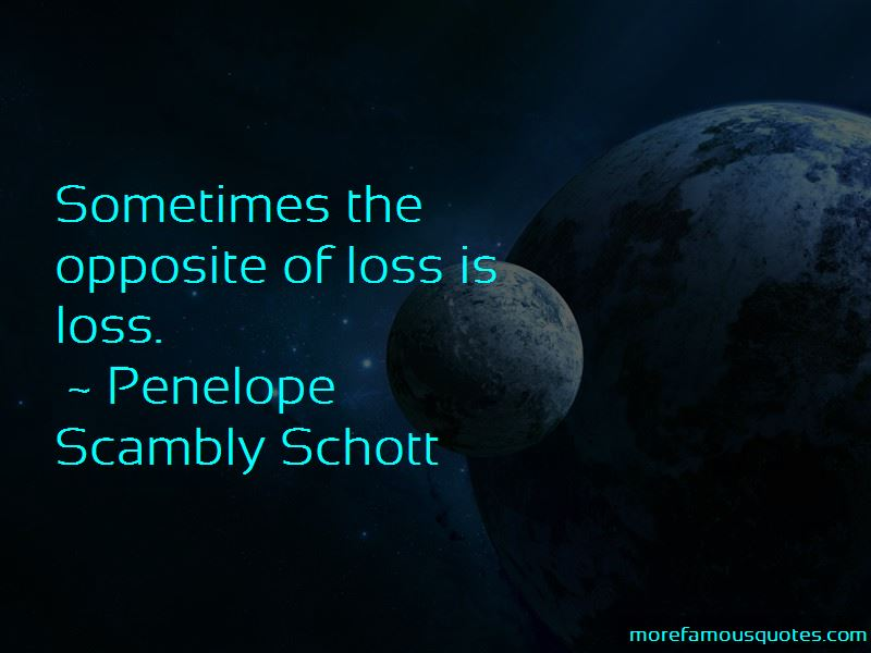 Penelope Scambly Schott Quotes