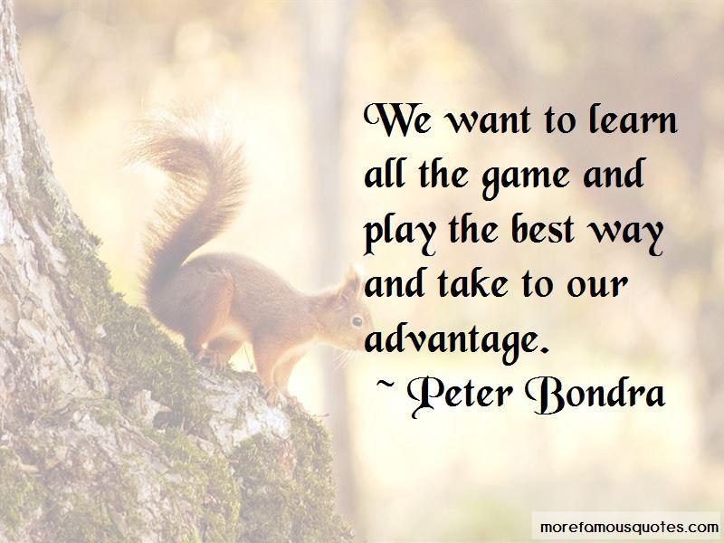 Peter Bondra Quotes