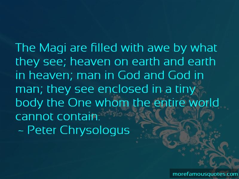 Peter Chrysologus Quotes