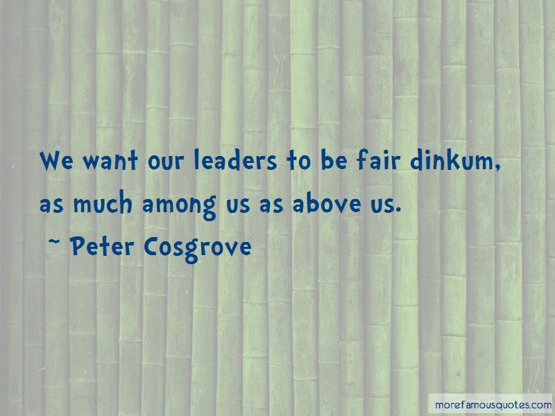 Peter Cosgrove Quotes Pictures 2