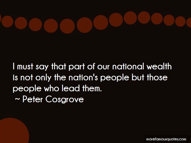 Peter Cosgrove Quotes