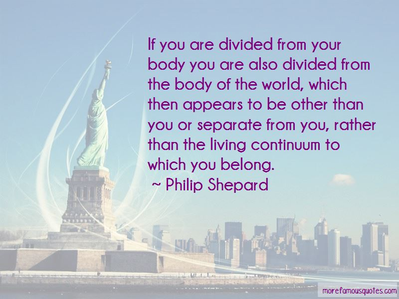 Philip Shepard Quotes