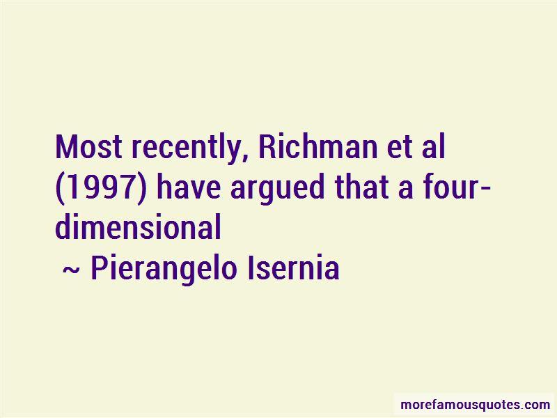 Pierangelo Isernia Quotes