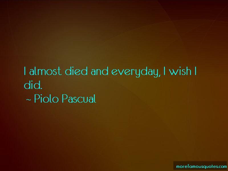 Piolo Pascual Quotes