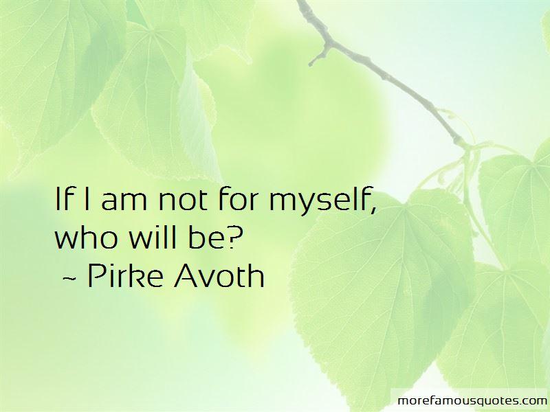 Pirke Avoth Quotes