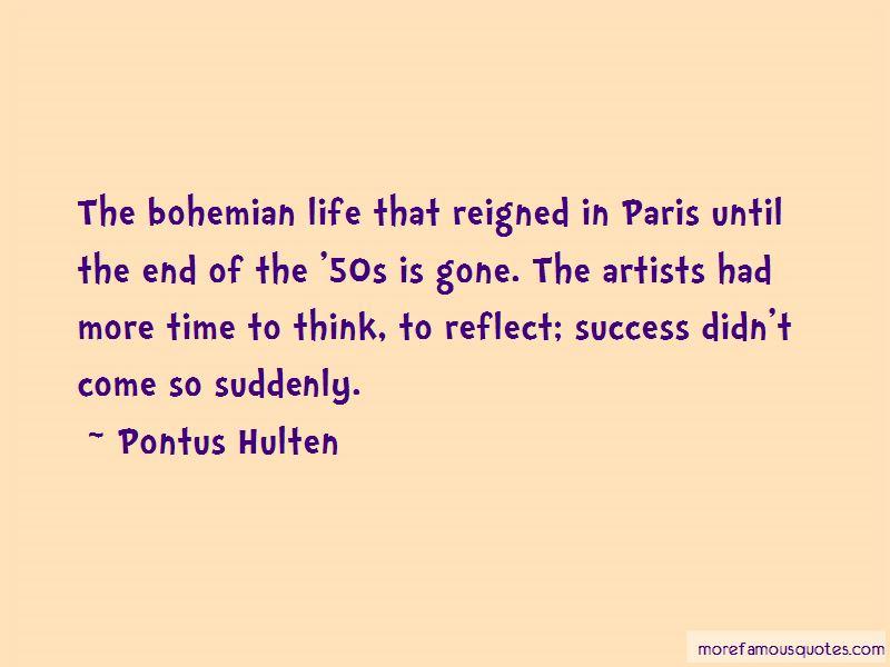 Pontus Hulten Quotes Pictures 4