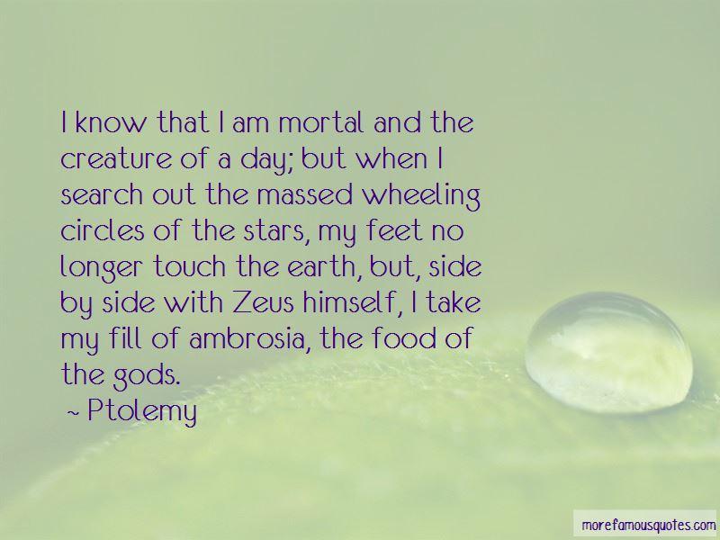 Ptolemy Quotes