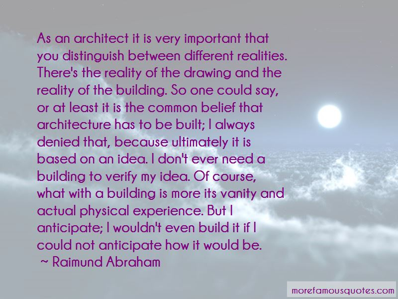 Raimund Abraham Quotes