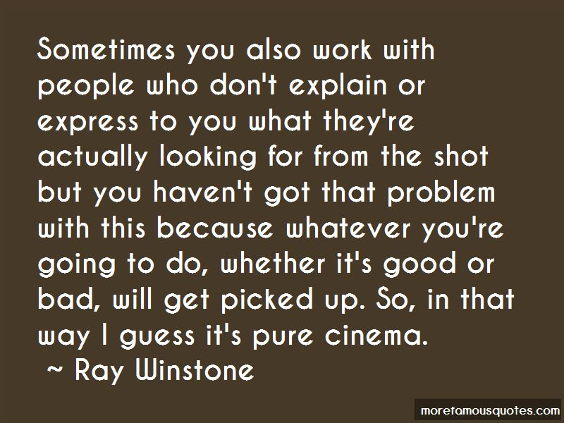 Ray Winstone Quotes Pictures 2