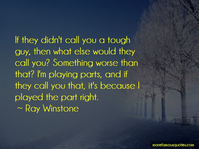 Ray Winstone Quotes Pictures 3