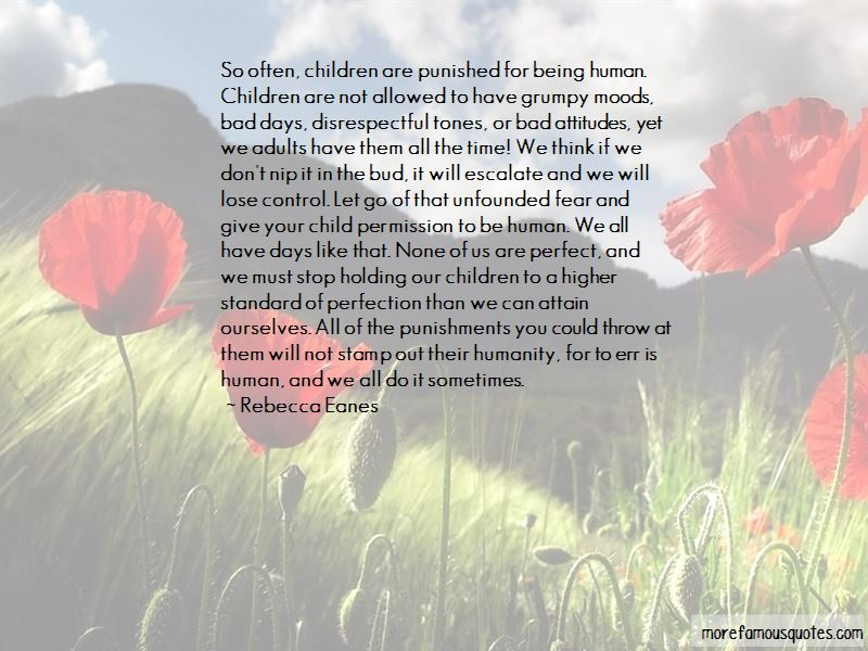 Rebecca Eanes Quotes