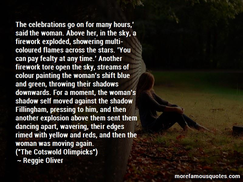 Reggie Oliver Quotes