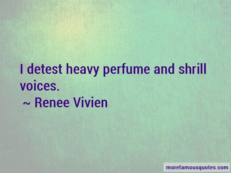 Renee Vivien Quotes