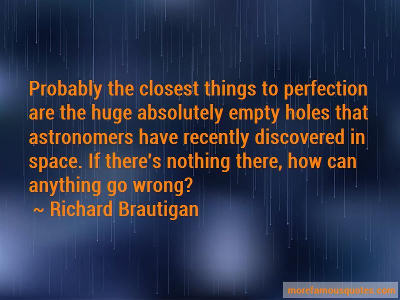 Richard Brautigan Quotes