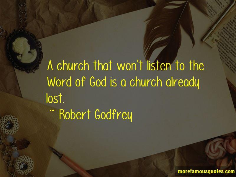 Robert Godfrey Quotes Pictures 3