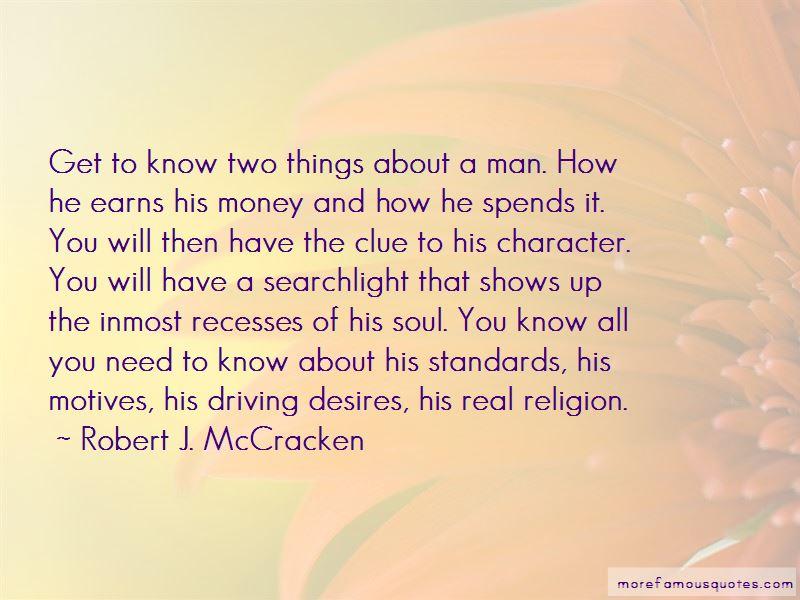 Robert J. McCracken Quotes