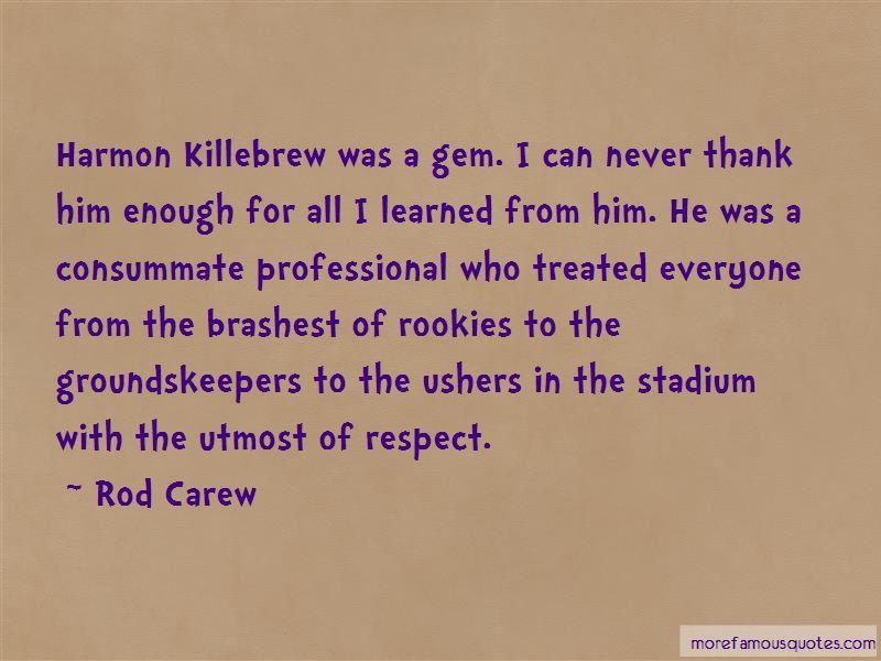 Rod Carew Quotes Pictures 2