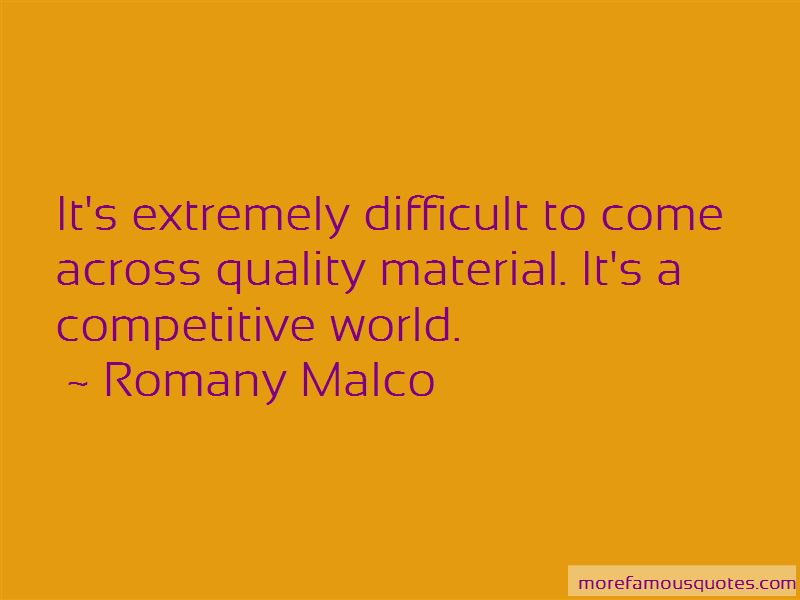 Romany Malco Quotes