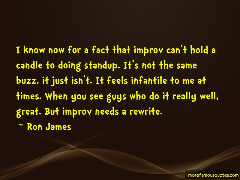 Ron James Quotes Pictures 2