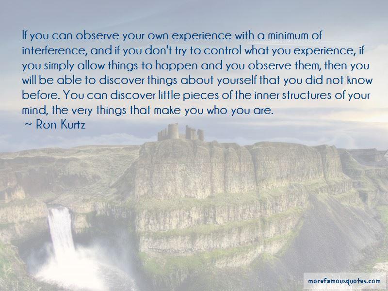 Ron Kurtz Quotes Pictures 3