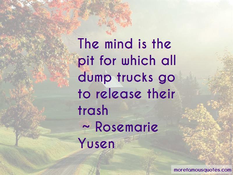 Rosemarie Yusen Quotes Pictures 2