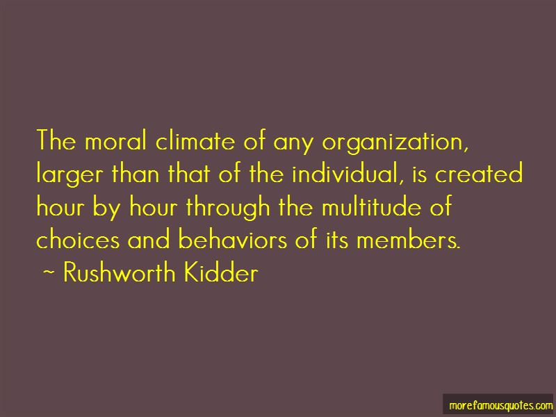 Rushworth Kidder Quotes Pictures 2