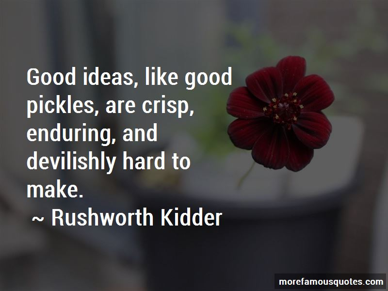 Rushworth Kidder Quotes Pictures 3