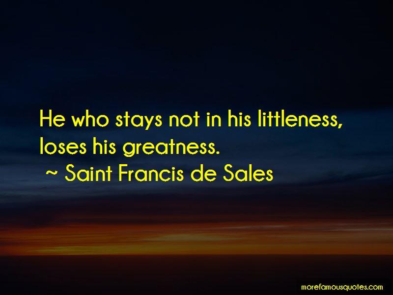 Saint Francis De Sales Quotes