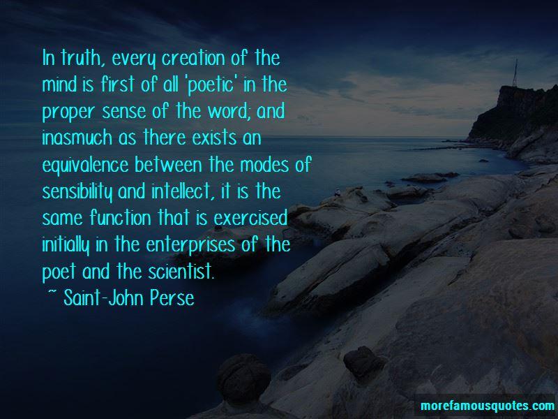 Saint-John Perse Quotes