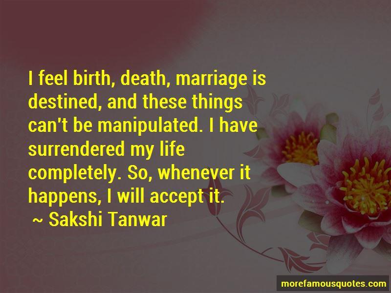 Sakshi Tanwar Quotes Pictures 4