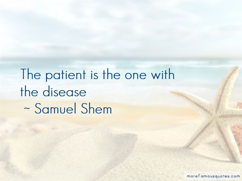 Samuel Shem Quotes Pictures 2