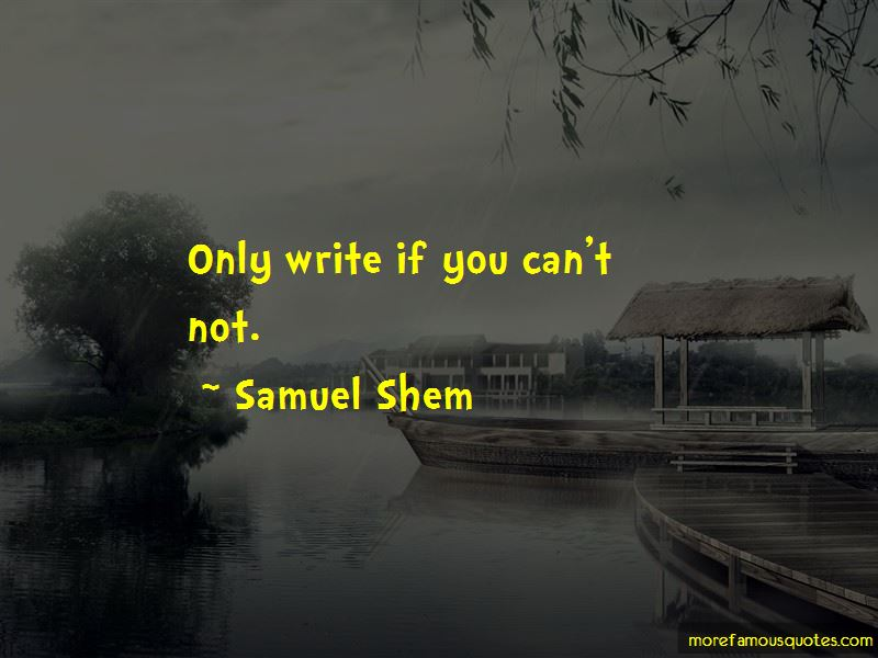 Samuel Shem Quotes