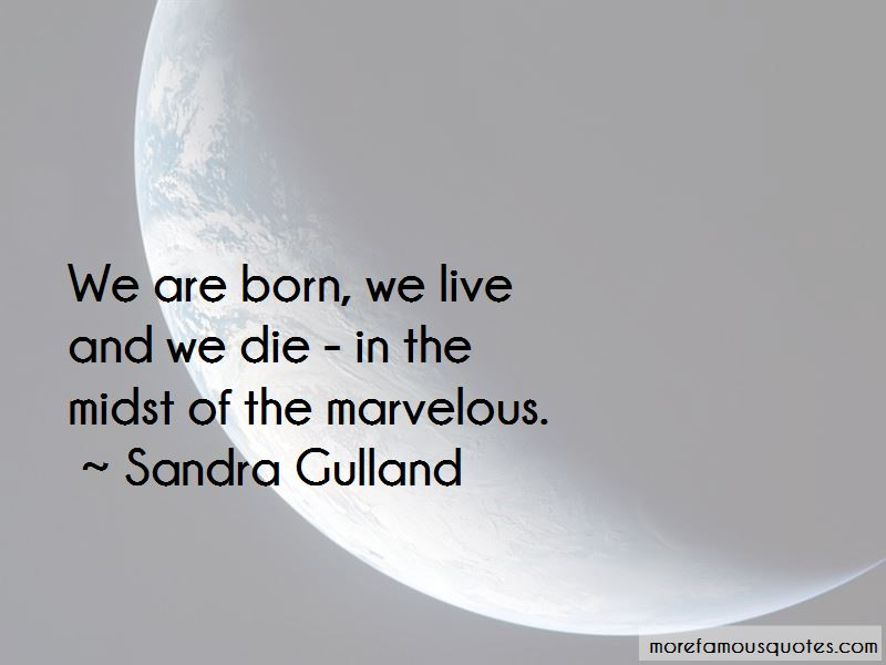 Sandra Gulland Quotes Pictures 3