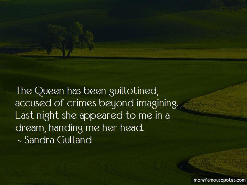 Sandra Gulland Quotes Pictures 4