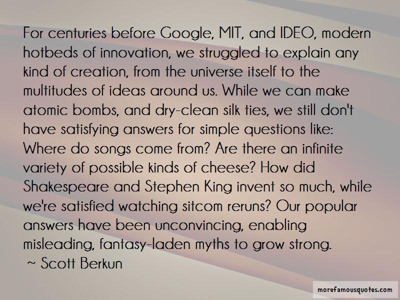 Scott Berkun Quotes Pictures 4