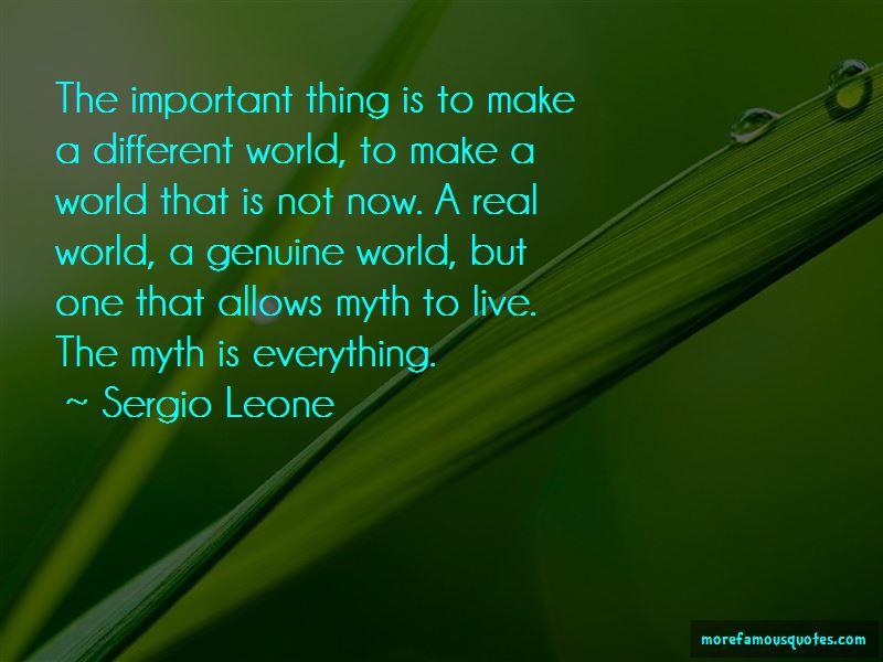 Sergio Leone Quotes Pictures 2