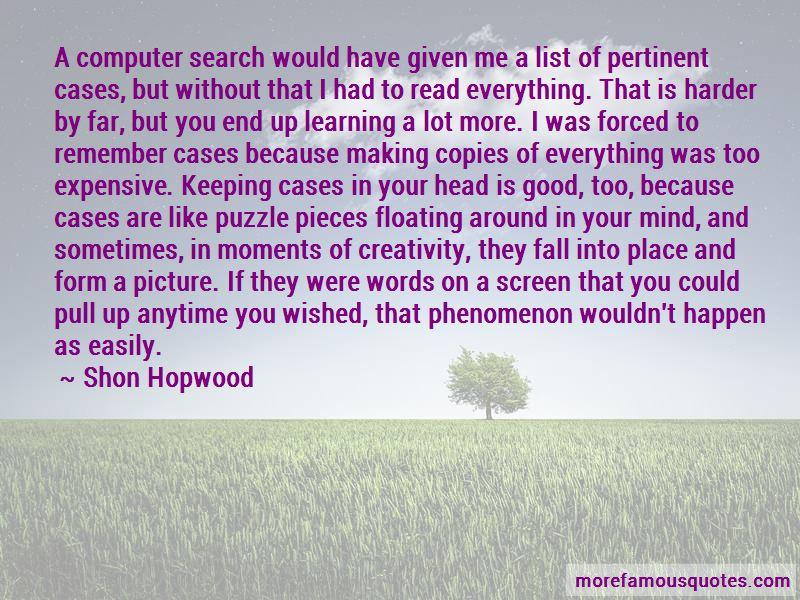 Shon Hopwood Quotes