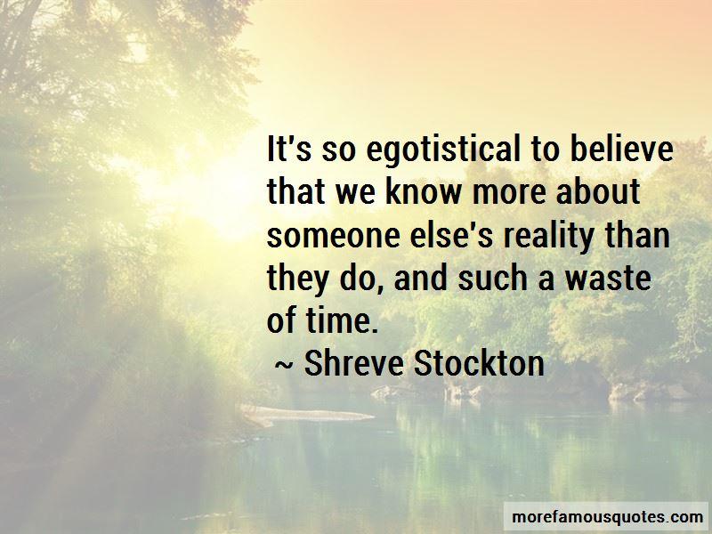 Shreve Stockton Quotes