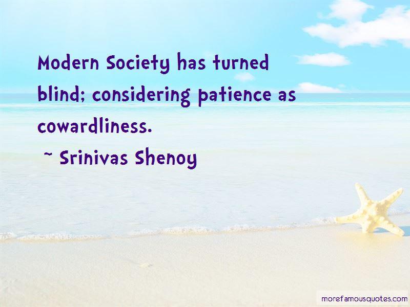 Srinivas Shenoy Quotes