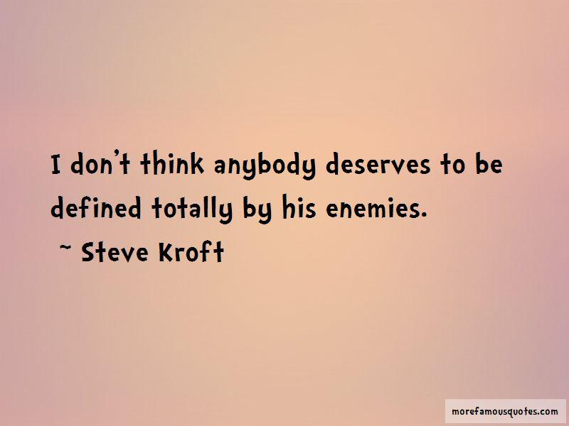 Steve Kroft Quotes Pictures 2