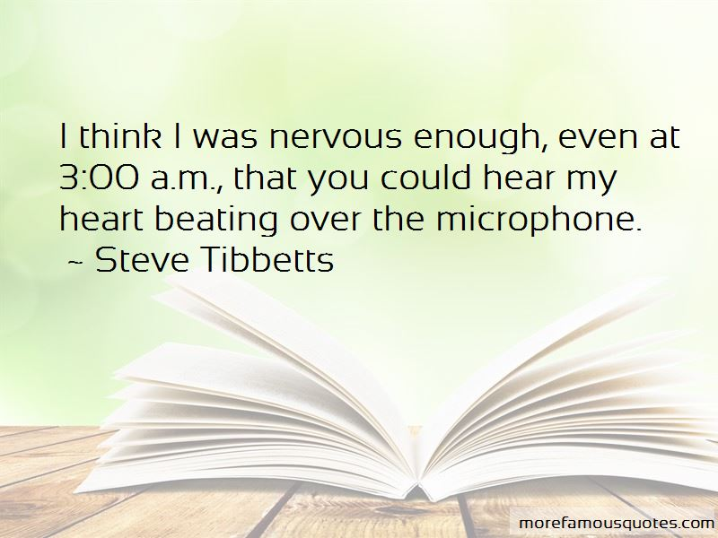 Steve Tibbetts Quotes Pictures 3