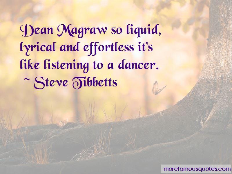 Steve Tibbetts Quotes