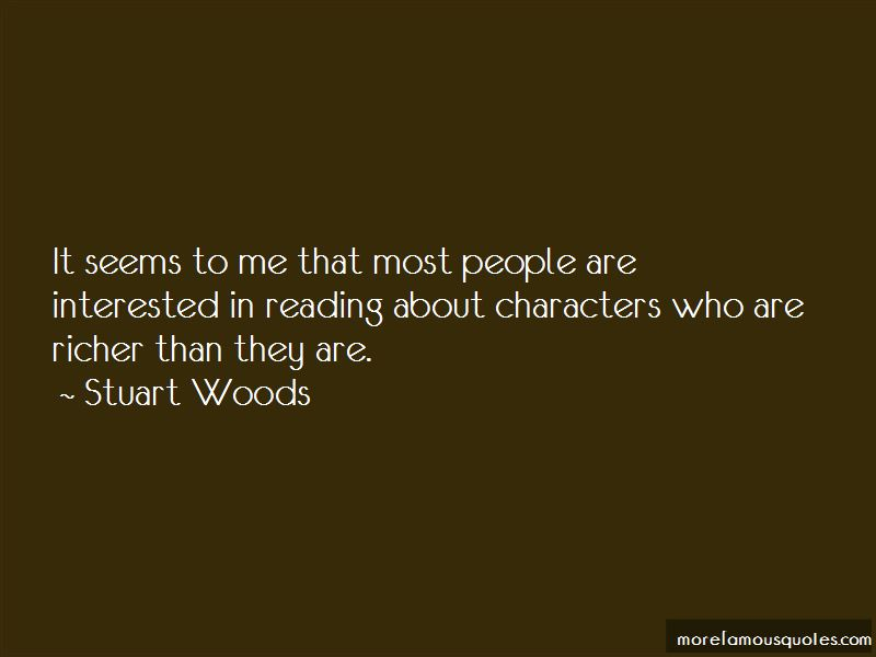 Stuart Woods Quotes Pictures 3