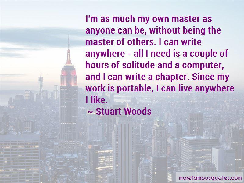 Stuart Woods Quotes