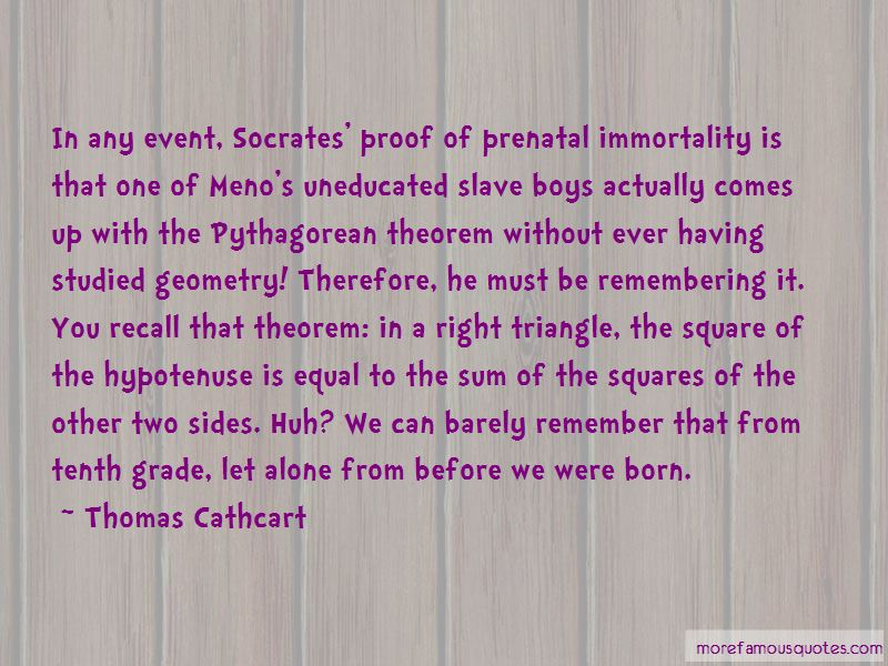 Thomas Cathcart Quotes Pictures 4